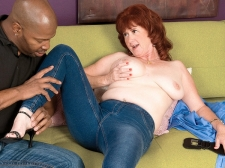A large, darksome dick for Shirley's debut
