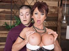 Gina gives fresh meaning to, Bonk The Boss!