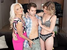 Jynn's first time: a 3some with her most incredible ally!