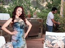 Red-hot M.I.L.F. Claudia acquires ass-fucked by the gardener